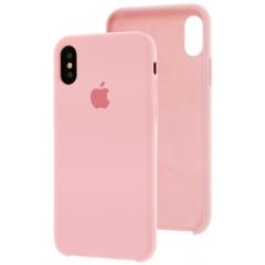 Чехол Silicone Case iPhone Xs Max (розовый)