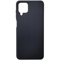 Чехол Silicone Case Samsung A12 (черный)