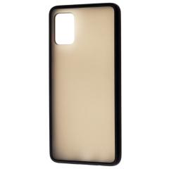 Чехол LikGus Maxshield матовый Samsung Galaxy A51 (черный)