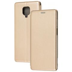 Книга Premium Xiaomi Redmi Note 9s/Note 9 Pro (золотой)
