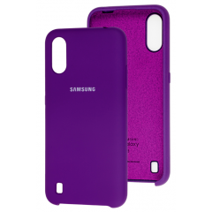 Чехол Silky Samsung Galaxy A01 (фиолетовый)