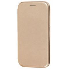 Книга Premium Samsung Galaxy A01 (золотой)