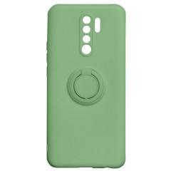 Чехол Ring Color Xiaomi Redmi 9 (зеленый)