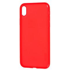 Чехол силиконовый Momo iPhone XS Max (красный)