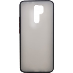 Чехол LikGus Maxshield матовый Xiaomi Redmi 9 (черный)