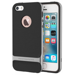 Чехол-накладка Rock Royce iPhone 5/5s/5se  (серый)
