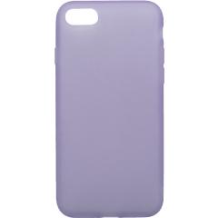 Чехол силиконовый Latex матовый iPhone 7/8 (лавандовый)