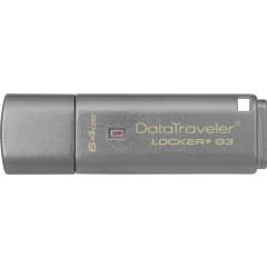 Kingston DataTraveler Locker+ G3[DTLPG3/64GB]