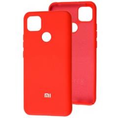 Чехол Silicone Case Xiaomi Redmi 9C (красный)