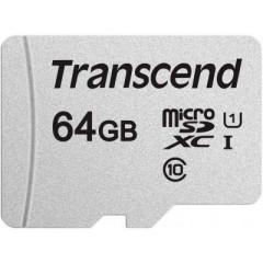 Transcend microSDXC/SDHC 300S[TS64GUSD300S-A]