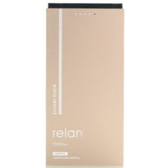 Remax Relan 10000mAh with 2in1 RPP-65[RPP-65-GOLD]