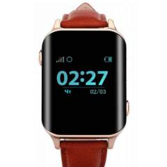 GoGPSme Телефон-часы с GPS трекером GOGPS М01[M01GD]