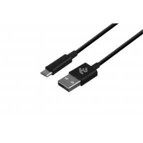 2E Кабель USB 2.0 to Micro USB Molding Type,[2E-CCMAB-BL]
