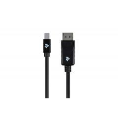 2E Mini DisplayPort-DisplayPort, (AM/AM), 2 м