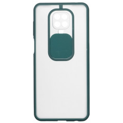 Чехол Totu Curtain Xiaomi Redmi Note 9s / 9 Pro / 9 Pro Max (зеленый)