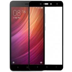 Защитное стекло Xiaomi Redmi Note 4x (5D Black) 0.33mm