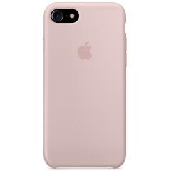 Чехол Silicone Case iPhone 7/8/SE 2020 (пудра)