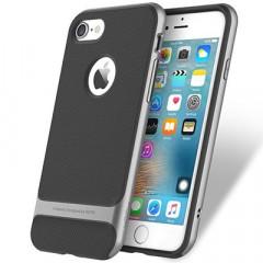 Чехол-накладка Rock Royce iPhone 8 (серый)