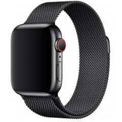 Ремешок Milanese для Apple Watch 38/40mm (черный)