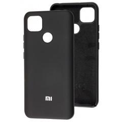 Чехол Silicone Case Xiaomi Redmi 9C (черный)