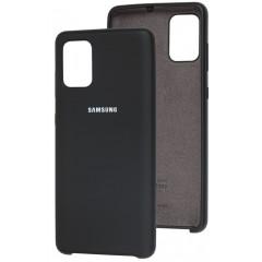Чехол Silky Samsung Galaxy A41 (черный)