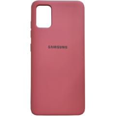 Чехол Silicone Case Samsung Galaxy A51 (коралловый)