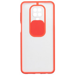 Чехол Totu Curtain Xiaomi Redmi Note 9s / 9 Pro / 9 Pro Max (красный)