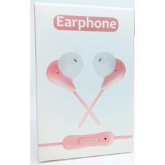 Вакуумные наушники гарнитура Earphone TZ/Q9 (Pink)