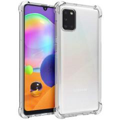 Чехол усиленный для Samsung Galaxy A31 (прозрачный)