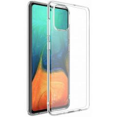 Силиконовый чехол Samsung A71 (прозрачный)