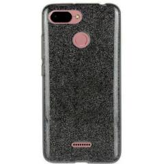 Силиконовый чехол Shine Xiaomi Redmi 6 (черный)