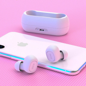 TWS наушники QCY T1 Earphones (White)