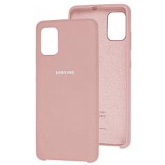 Чехол Silky Samsung Galaxy A41 (бежевый)