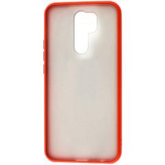 Чехол LikGus Maxshield матовый Xiaomi Redmi 9 (красный)