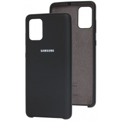 Чехол Silky Samsung Galaxy A71 (черный)