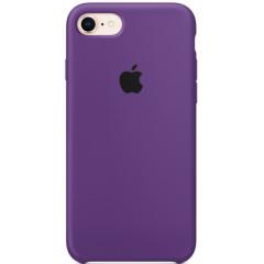 Чехол Silicone Case iPhone 7/8/SE 2020 (фиолетовый)
