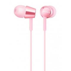 Вакуумные наушники-гарнитура Sony MDR-EX155AP (Pink)