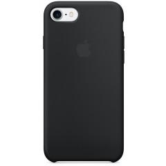 Чехол Silicone Case iPhone 7/8/SE 2020 (черный)