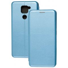 Книга Premium Xiaomi Redmi Note 9 (голубой)