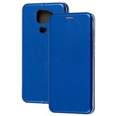 Книга Premium Xiaomi Redmi Note 9 (синий)
