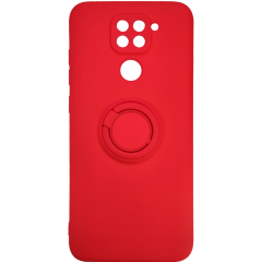 Чехол Ring Color Xiaomi Redmi Note 9 (красный)