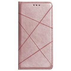 Книга Business Leather Xiaomi Redmi 9 (розовый)