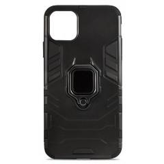 Чехол Armor + подставка iPhone 11 Pro Max (черный)