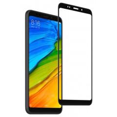 Защитное стекло Xiaomi Redmi 5 Plus (5D black) 0.33mm
