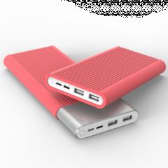 Чехол Xiaomi Power Bank 2S/ MI3 10000 mah (Pink)