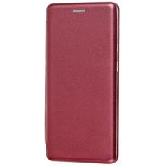 Книга Premium Samsung Galaxy A71 (бордовый)