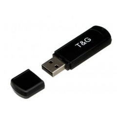Флешка USB T&G 011 Classil Series 128GB USB 3.0 (Black) TG011-128GBBK