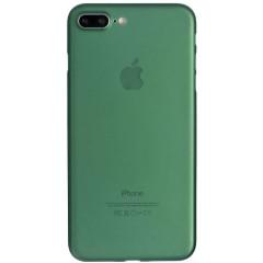 Чехол силиконовый Latex матовый iPhone 7/8 (хаки)