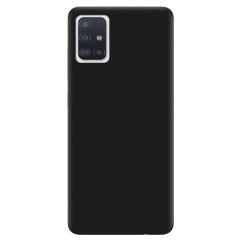 Чехол Soft Touch Samsung Galaxy A71 (черный)