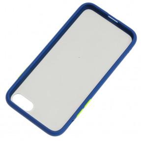 Чехол LikGus Maxshield матовый iPhone 7/8 (темно-синий)